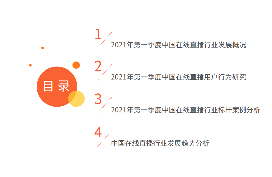 在线直播行业报告:2021年用户规模将超6亿,正能量内容受欢迎